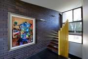 Фото 1 Лестница на второй этаж (120 фото): современные варианты оформления в частном доме