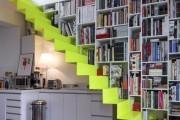 Фото 4 Лестница на второй этаж (120 фото): современные варианты оформления в частном доме
