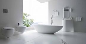 Дизайн белой ванной комнаты (75 фото): «чистая» гармония фото