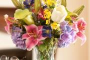 Фото 6 Искусственные цветы для домашнего интерьера: как эффектно украсить жилище