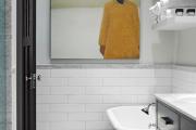 Фото 3 Черно-белая ванная комната (56 фото): шик и оригинальность в вашем доме