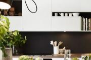 Фото 4 Черно-белая кухня: 40+ фото как оформить минималистичный интерьер
