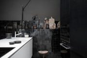 Фото 6 Черно-белая кухня: 40+ фото как оформить минималистичный интерьер