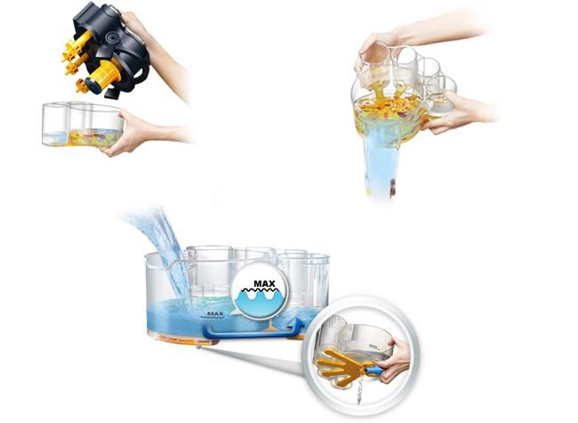 Пылесос с аквафильтром: какой фирмы лучше, цены, отзывы. Очистка резервуара для воды. Менять воду в пылесосах разных моделей приходится с разной частотой: бюджетные очистят от пыли около 15 кв. м на одной заправке чистой водой, пылесосы подороже - от 50 кв. м