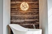 Фото 6 Дизайн белой ванной комнаты (75 фото): «чистая» гармония