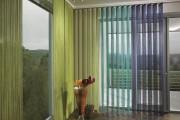 Фото 8 Жалюзи вертикальные тканевые (55+ фото): функциональность и красота интерьера