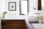 Фото 9 Дизайн белой ванной комнаты (75 фото): «чистая» гармония