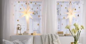 60 идей украшений на окна к Новому 2017 году фото