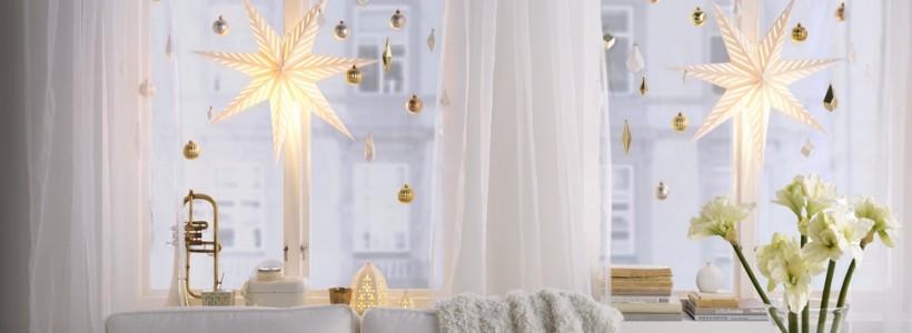 Лучшие варианты украшений на окна к Новому 2018 году