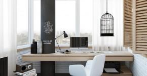 55 идей дизайна рабочего места: у окна, в шкафу, детское рабочее место фото