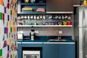 Фото 4 55 идей дизайна кухни 12 кв.м.: как спланировать помещение
