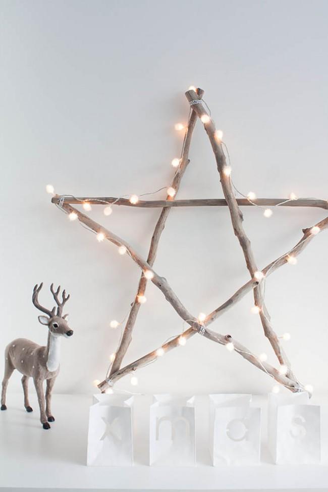 Существует огромное множество ярких идей новогодних звезд своими руками