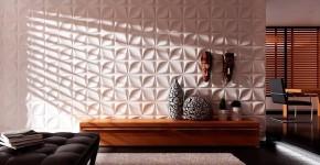 50+ идей 3d панелей для стен в интерьере фото