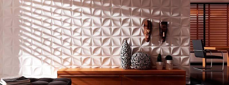 50+ идей 3d панелей для стен в интерьере
