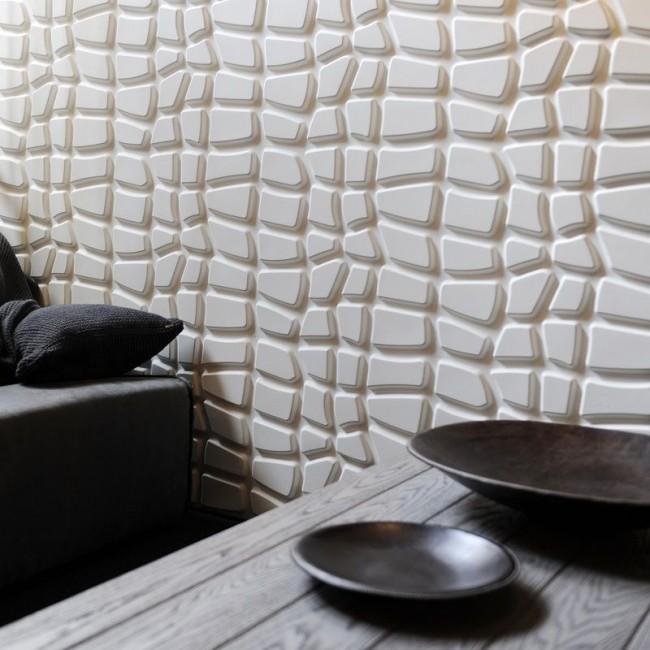 Трехмерная картинка создает неповторимое ощущение безграничности и иллюзию живых стен