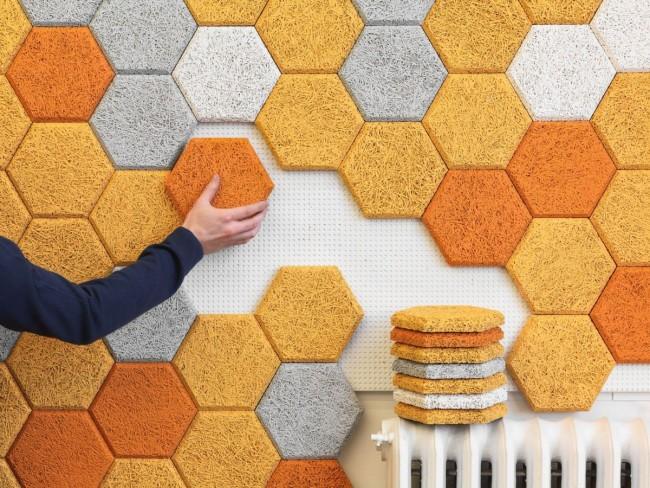3D эффект текстурированных декоративных панелей угрожает превратить простой интерьер в захватывающее дух зрелище
