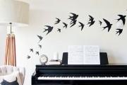 Фото 21 70+ декоративных наклеек для интерьера на стены (фото, видео)