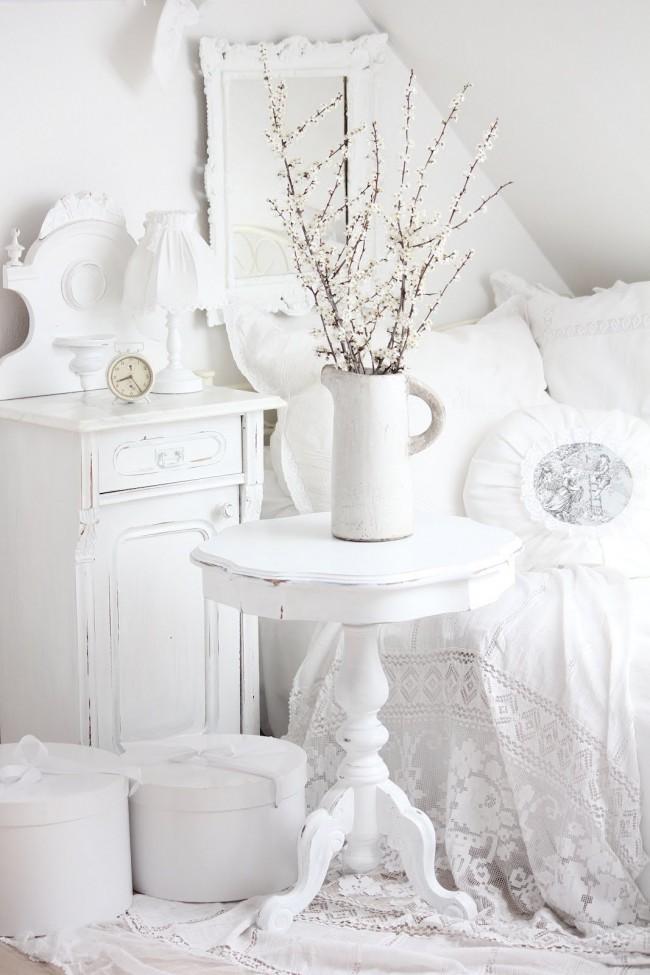 Фото спальни в стиле прованс - изысканная нежность