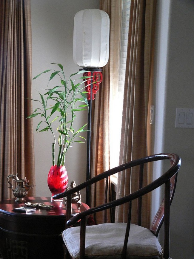 Сандера очень красиво смотрится в стеклянной вазе