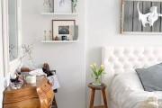 Фото 3 60+ идей интерьера белой спальни: элегантная роскошь (фото)
