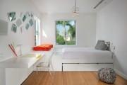 Фото 7 60+ идей интерьера белой спальни: элегантная роскошь (фото)