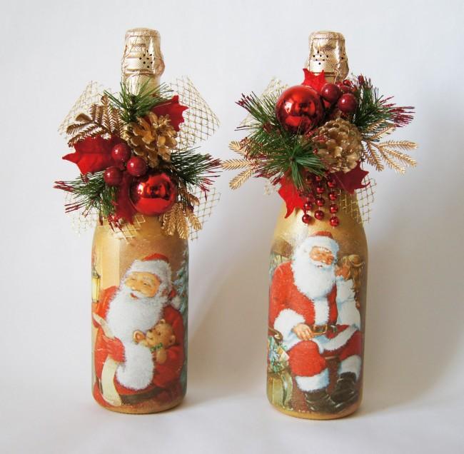 Немного фантазии и вдохновения и Вы создадите неповторимое новогоднее украшение