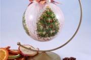 Фото 7 50+ идей декупажа елочных шаров своими руками