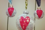 Фото 14 50+ идей декупажа елочных шаров своими руками