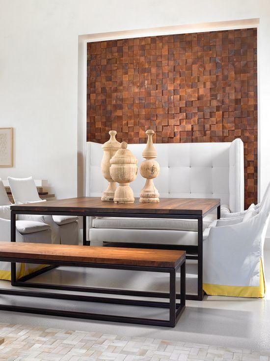 Деревянный декор не только украсит помещение, а и придаст чувство оригинальности