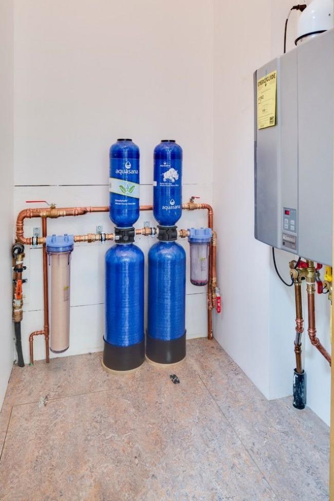 Электрический котел с системой фильтрации воды прослужит на много дольше