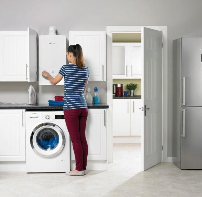В местах, где проведен природный газ, для центрального отопления частных домов и подогрева воды горячего водоснабжения чаще всего ипользуют газовые котлы