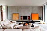 Фото 2 55 идей интерьера гостиной в частном доме (фото)