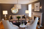 Фото 25 55 идей интерьера гостиной в частном доме (фото)
