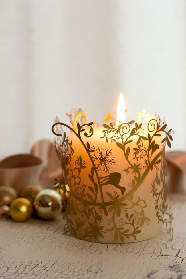 Свечи добавят изящества любому уголку вашего дома