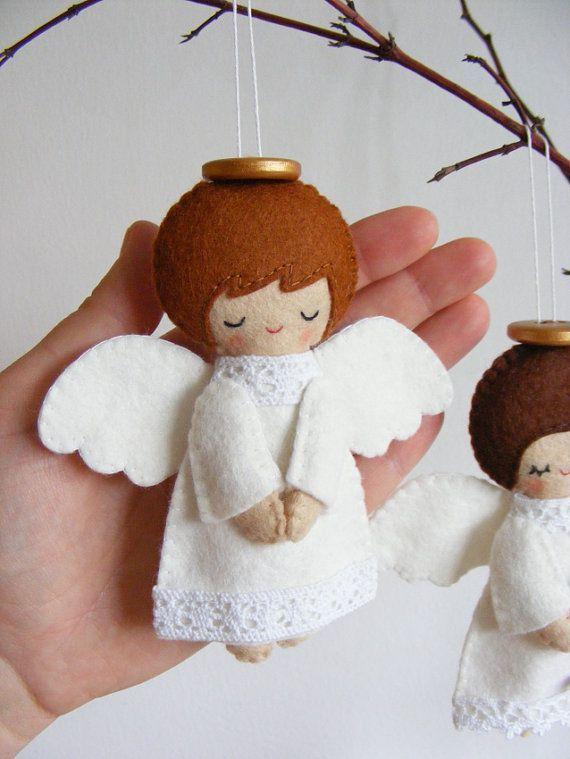 Нежный ангелок вызывает умиление и ощущение тепла