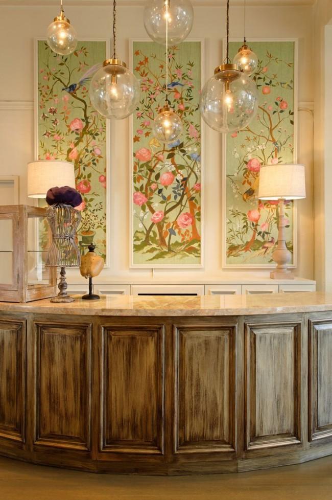 Изысканные картины из обоев украсят стену дома или общественного помещения