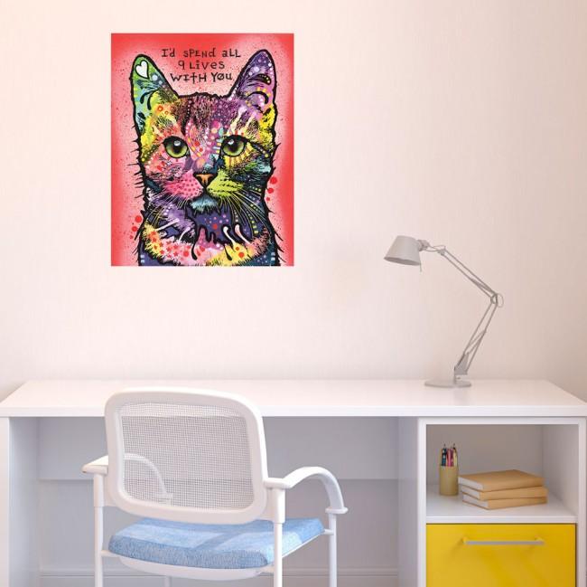 Яркая картина с животным - отличный выбор картины для детской комнаты