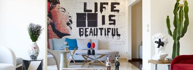 60+ идей кирпичной стены в интерьере (фото)