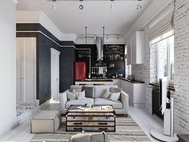 Кирпичная стена в интерьере вашего дома изменит привычные стереотипы о стиле и дизайне