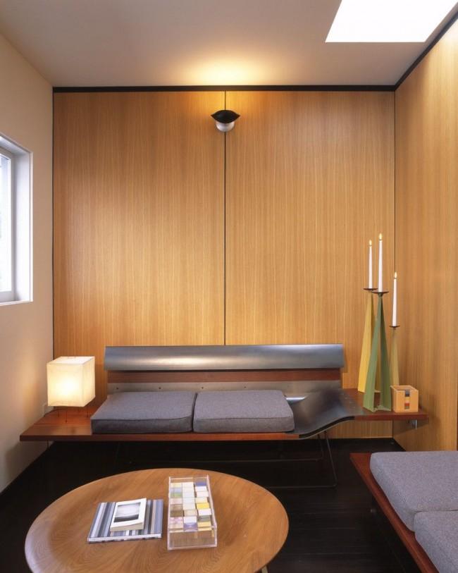 Маленькая гостиная в стиле модерн тоже может быть уютной