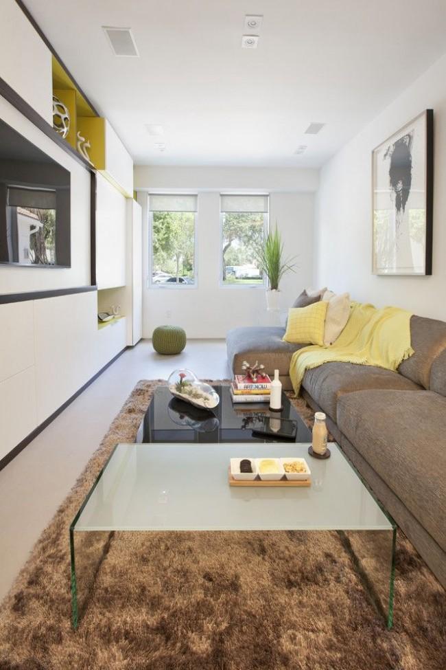 Белый цвет в интерьере поможет визуально сделать комнату больше