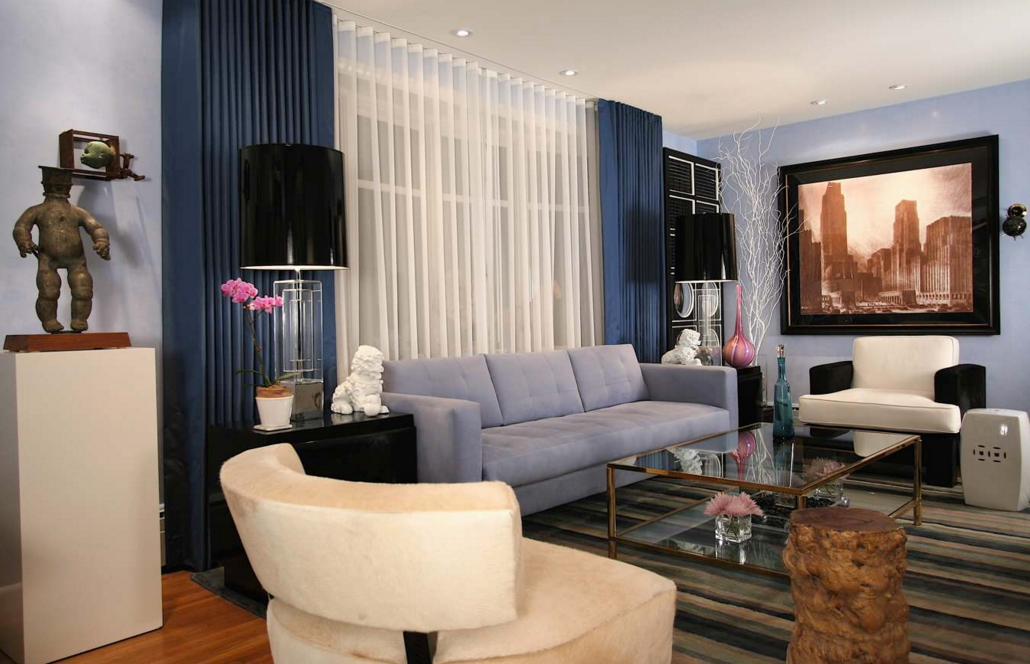 Дизайн тюли в гостиной