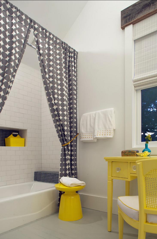 Как сделать занавеску в ванной