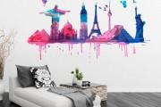Фото 4 70+ декоративных наклеек для интерьера на стены (фото, видео)