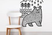 Фото 3 70+ декоративных наклеек для интерьера на стены (фото, видео)