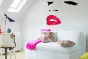 Фото 2 70+ декоративных наклеек для интерьера на стены (фото, видео)