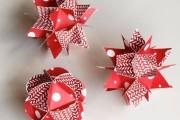Фото 20 65 идей новогодних игрушек из бумаги своими руками к Новому году 2017