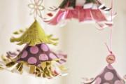 Фото 23 65 идей новогодних игрушек из бумаги своими руками к Новому году 2017