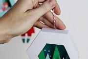 Фото 25 65 идей новогодних игрушек из бумаги своими руками к Новому году 2017