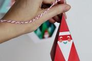 Фото 39 65 идей новогодних игрушек из бумаги своими руками к Новому году 2017